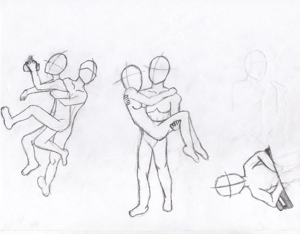 Character poses 1/3 by TitanSayan
