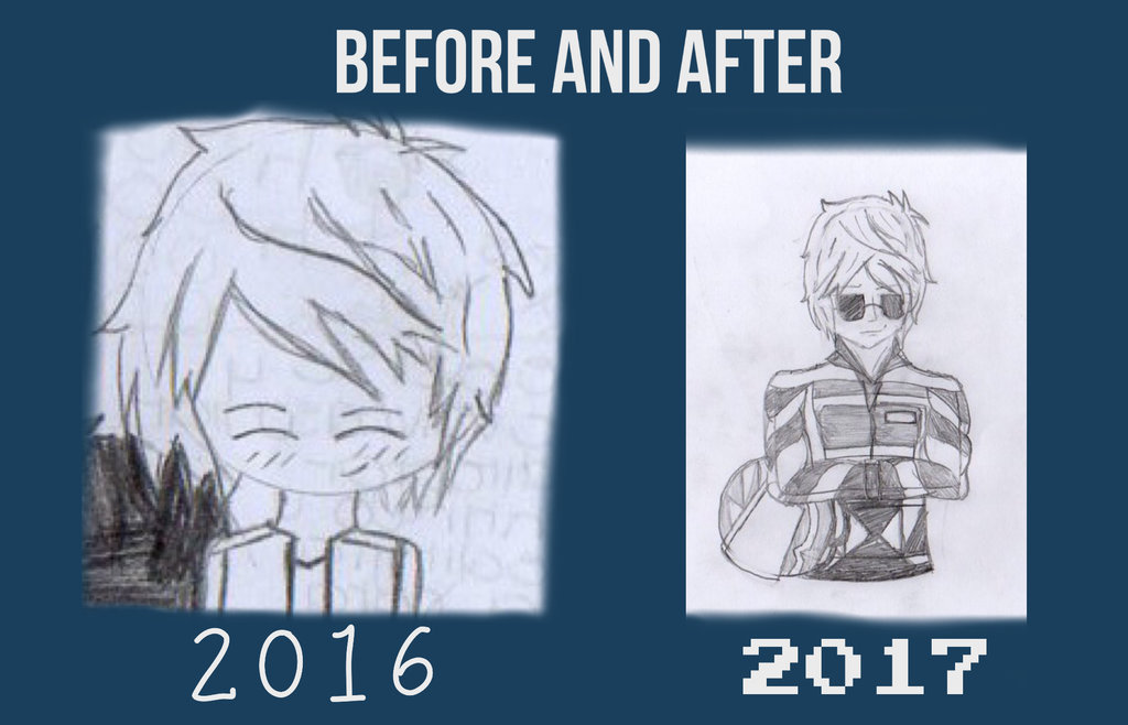 2016 vs 2017 SHU by TitanSayan
