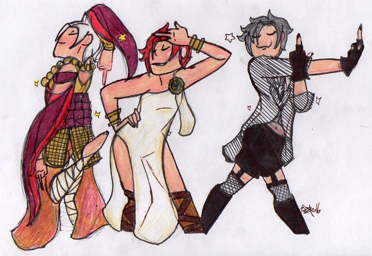 Draw The Squad- I dont know what i just did. by TitanSayan