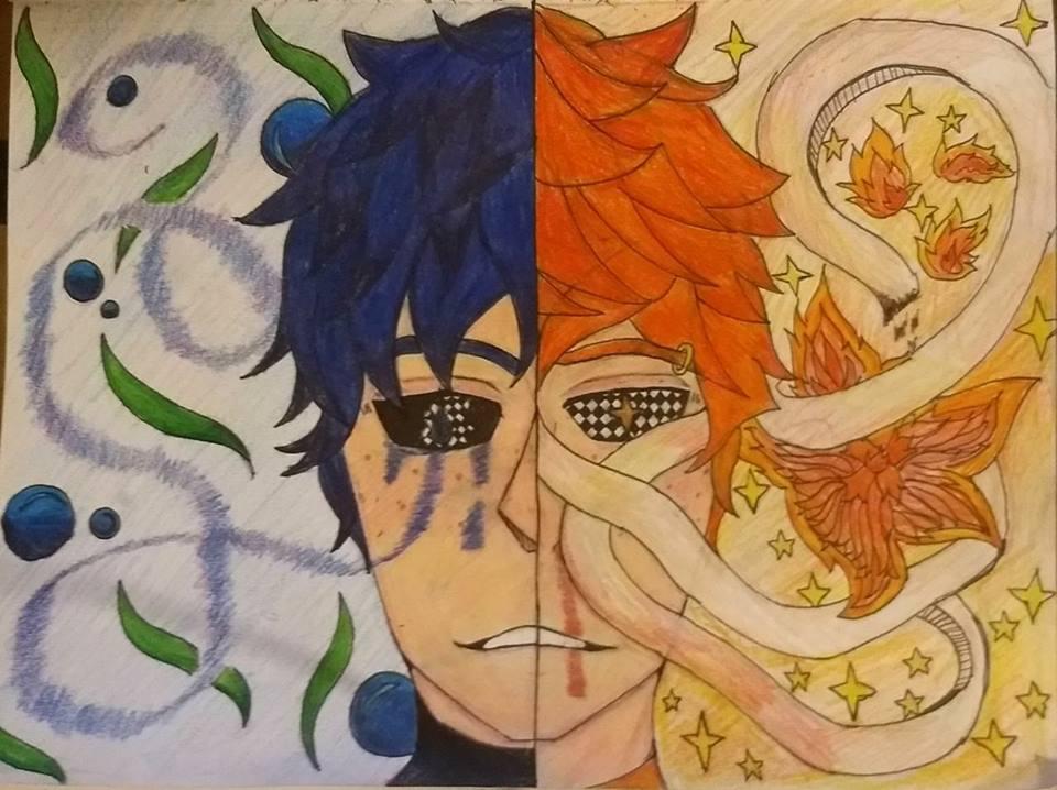 Akuma And Tenshi by TitanSayan