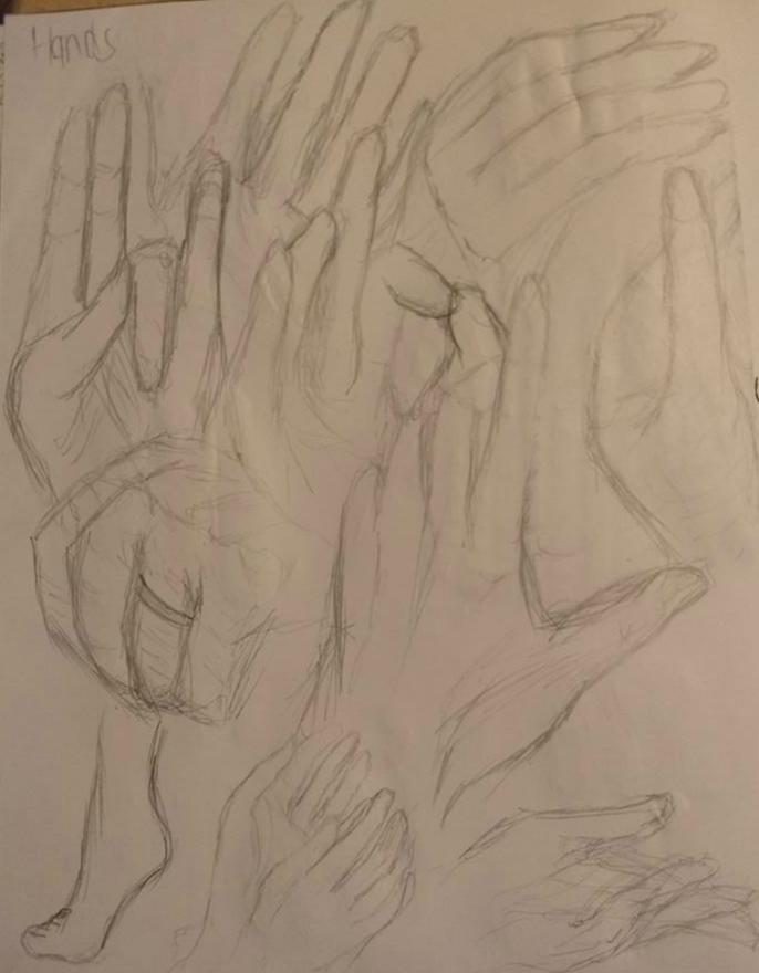 Hands Practice by TitanSayan