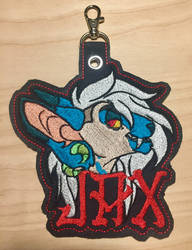 Jax Embroidered Conbadge