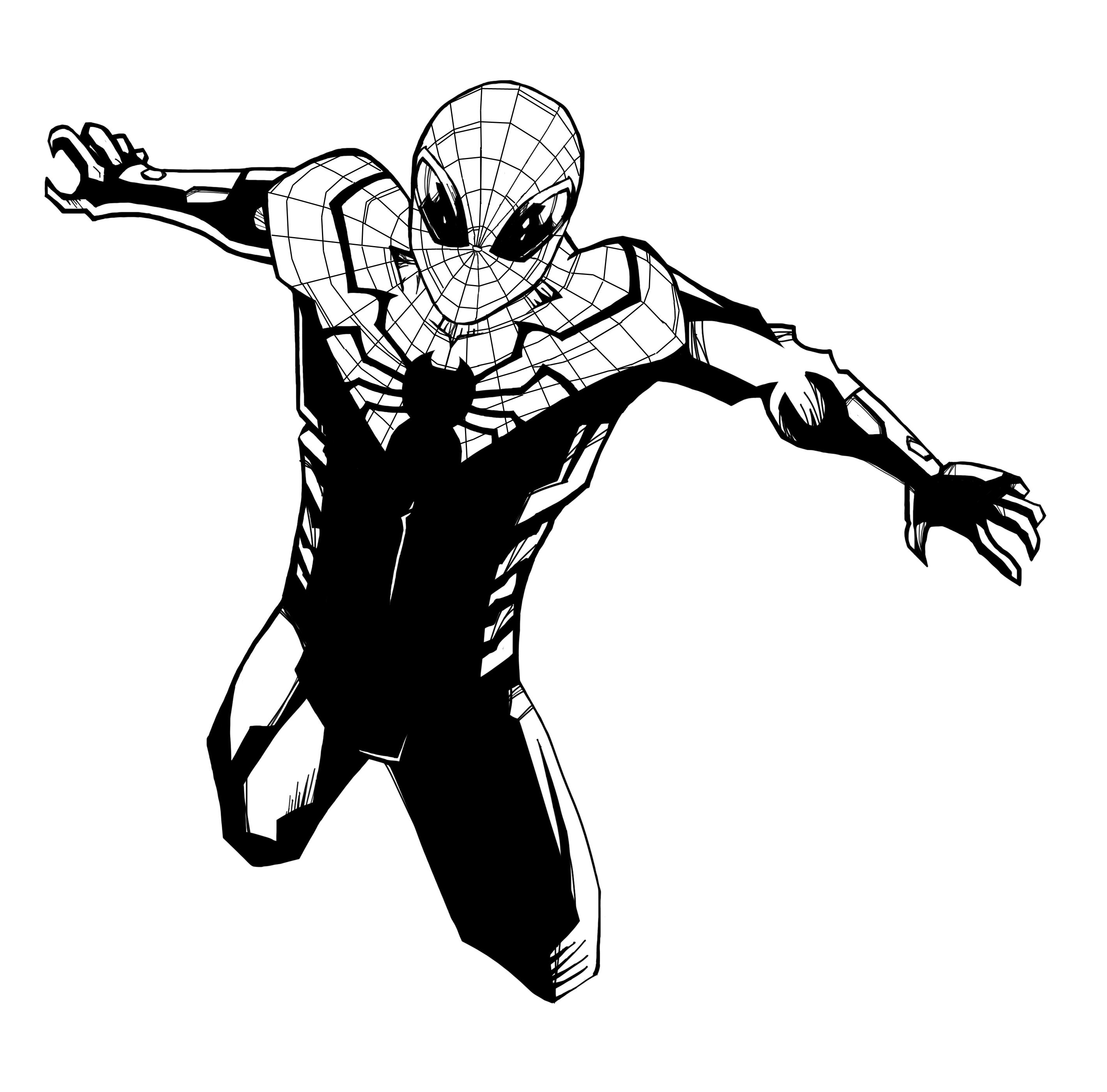 Superior Spider-Man 1nk by baamodt on DeviantArt