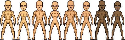 Microhero Templates (Frankensteined together) by SpiderTrekfan616