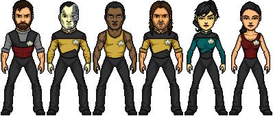 Star Trek TNG Reboot Parallels by SpiderTrekfan616