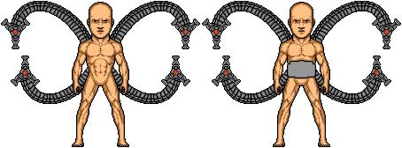 Doc Ock Tenticle Templates by SpiderTrekfan616