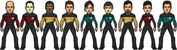 Star Trek TNG Reboot S7 by SpiderTrekfan616