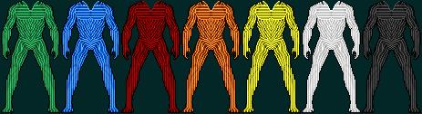 Lantern Suit Templates by SpiderTrekfan616
