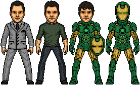 Amalgam Comics: Iron Lantern by SpiderTrekfan616