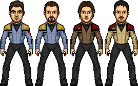 USS Armstrong NCC-193 Crew (WIP) by SpiderTrekfan616