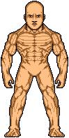 Brute Microhero template by SpiderTrekfan616
