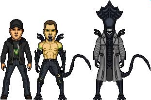 Agent Xeno by SpiderTrekfan616