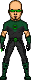 ajb3art as a Green Lantern by SpiderTrekfan616