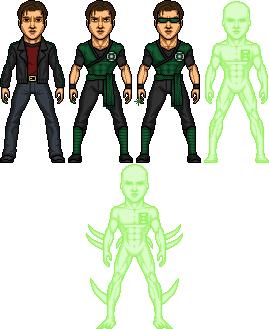 Green Lantern #3 Robert Slezak by SpiderTrekfan616