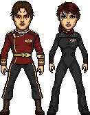 Total Drama Star Trek Phase II WIP by SpiderTrekfan616