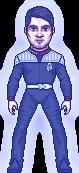 Captain Johnny Satchel's Force Ghost by SpiderTrekfan616