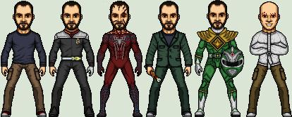 Micro-Challenge: Personas by SpiderTrekfan616