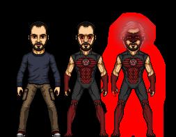 Red Lantern Redesigned by SpiderTrekfan616