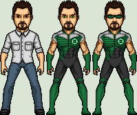 Green Lantern Rob Slezak by SpiderTrekfan616