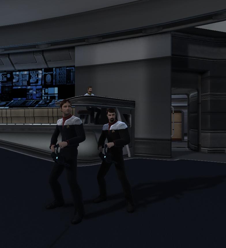 Starfleet Ghostbusters by SpiderTrekfan616