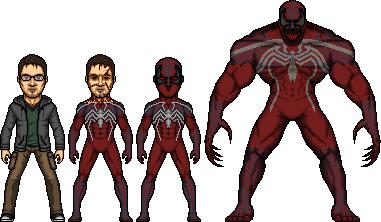New Crimson Spider design by SpiderTrekfan616