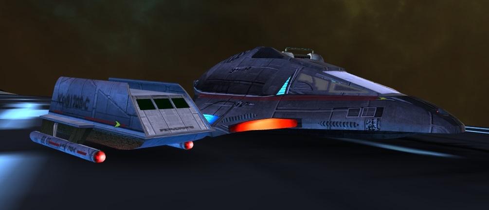 Two Broke Shuttles by SpiderTrekfan616