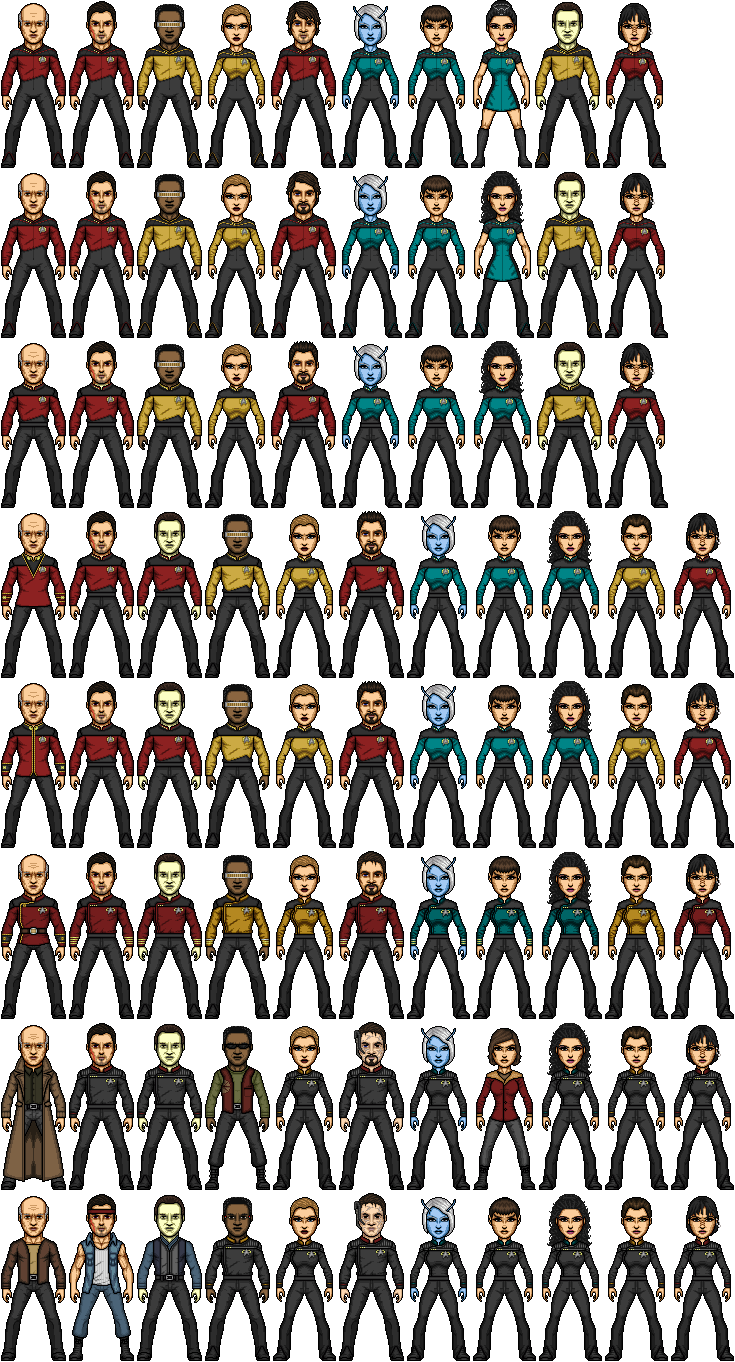 Star Trek TNG Commadore-Shuey Reboot by SpiderTrekfan616