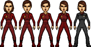 Kira Nerys Throughout the Years by SpiderTrekfan616