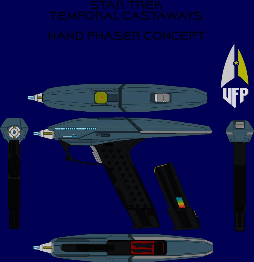 Star Trek Temporal Castaways Phaser by SpiderTrekfan616
