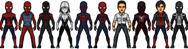Spider-Verse WIP by SpiderTrekfan616