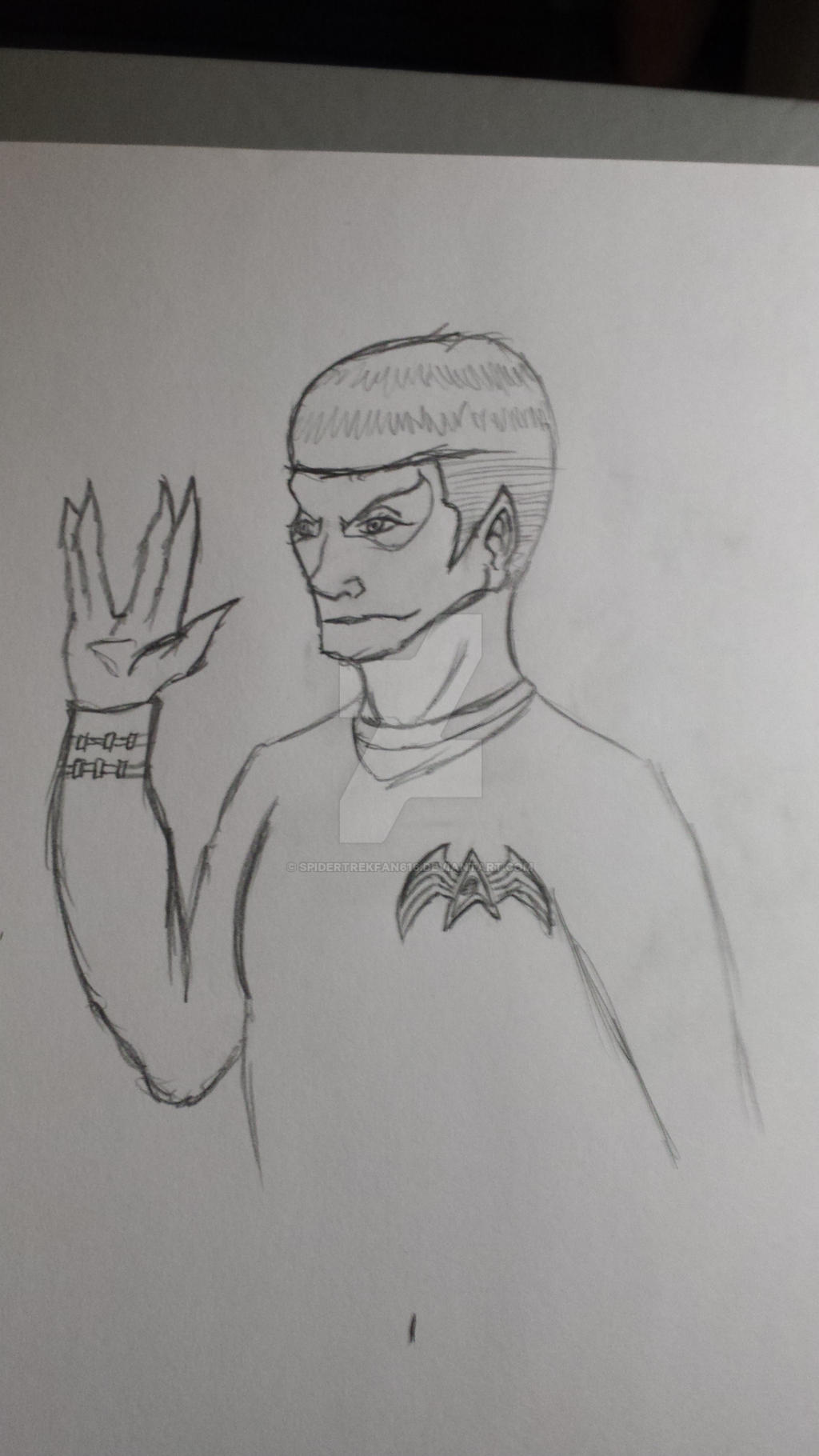 symbiote Spock by SpiderTrekfan616