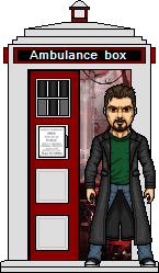 The Bishop and his TARDIS by SpiderTrekfan616