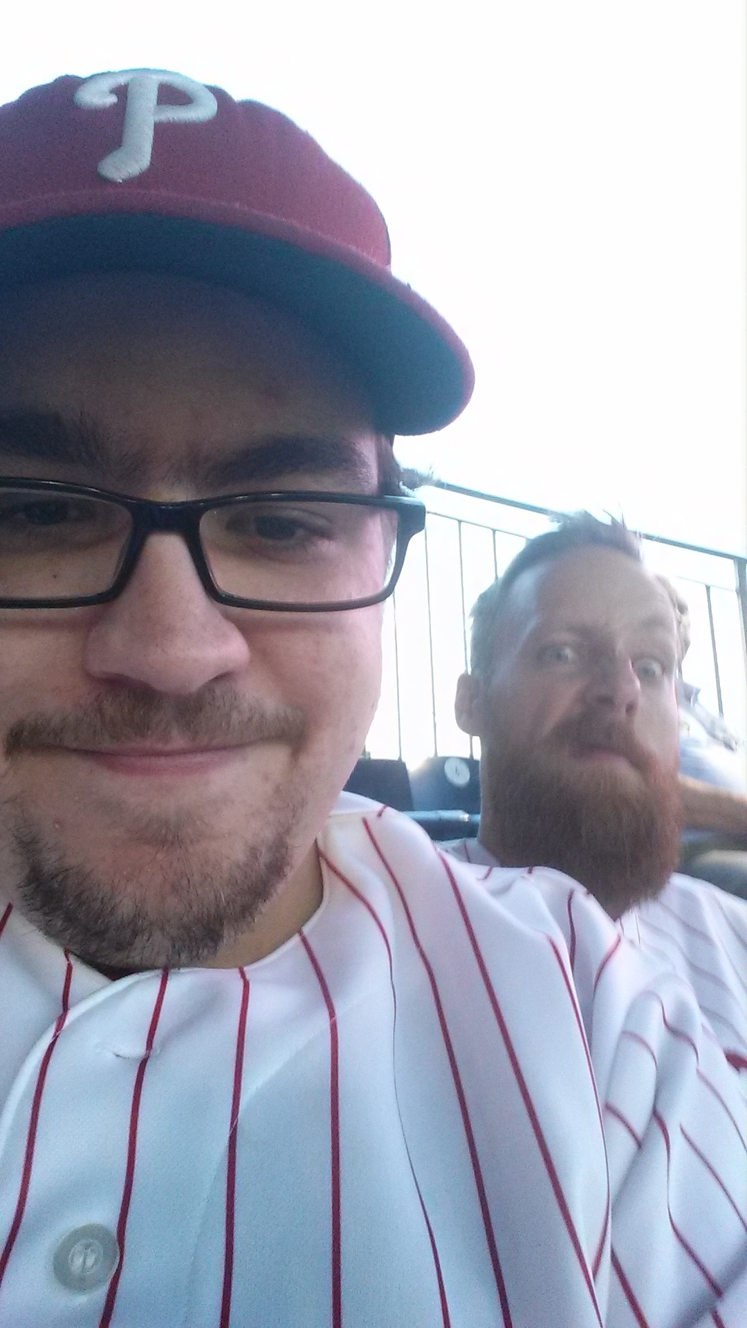 Me and my Brother at the Phillies by SpiderTrekfan616