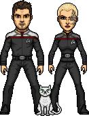 The Satchel family Cat by SpiderTrekfan616