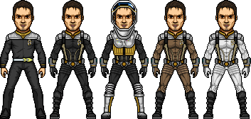 Hazard Suit Variants by SpiderTrekfan616
