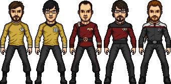 Deviant Trek Micros by SpiderTrekfan616