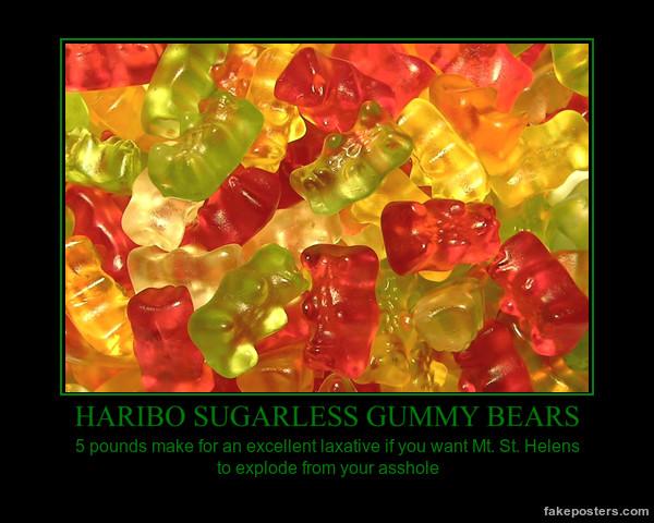 Gummy Bear Demotivational by SpiderTrekfan616