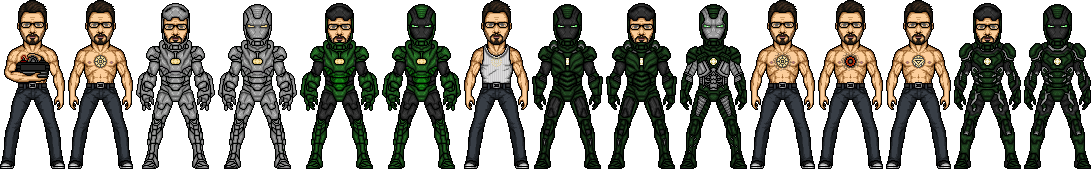 Iron Citizen Timeline by SpiderTrekfan616