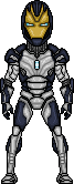 Blank Iron Legion drone by SpiderTrekfan616