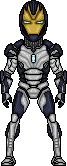 Blank Iron Legion drone by SpiderTrekfan616