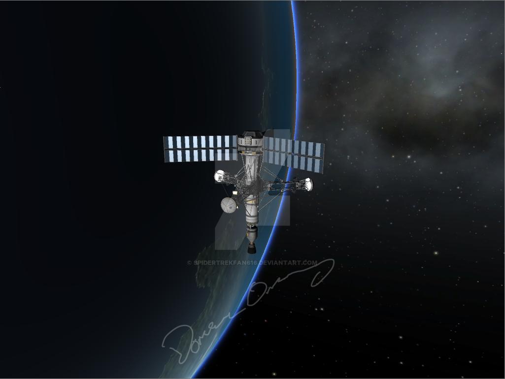 Orbital Station K-1 by SpiderTrekfan616