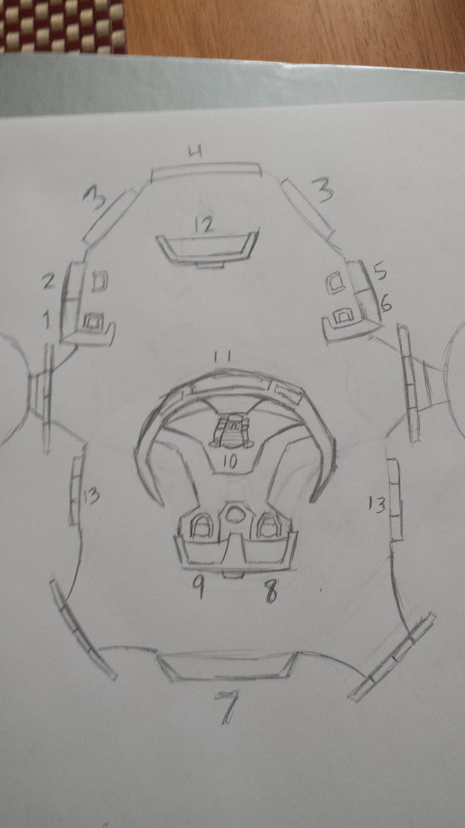 Grace preliminary bridge design by SpiderTrekfan616