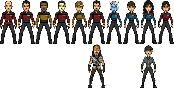 Star Trek Generations Commadore-Shuey Reboot by SpiderTrekfan616