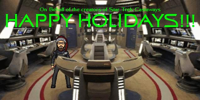 Star Trek Castaways Holiday Card by SpiderTrekfan616