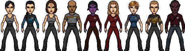 Star Trek Castaways Voyager Crew Year of Hell by SpiderTrekfan616