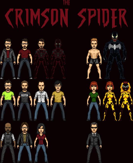 The Crimson Spider TV series by SpiderTrekfan616