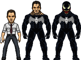 Eddie Brock AKA Venom by SpiderTrekfan616