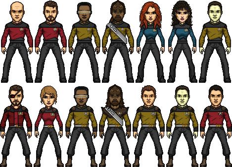 Star Trek TNG The Worst of Both Worlds by SpiderTrekfan616