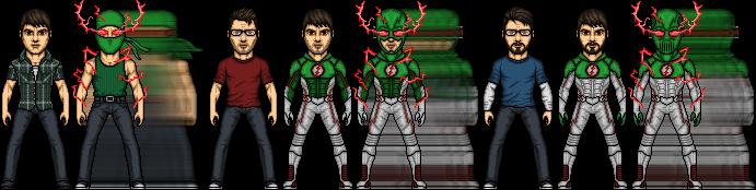 Tachyon Arrowverse by SpiderTrekfan616