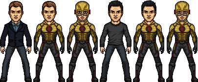 Eobard Thawne is the Reverse Flash by SpiderTrekfan616